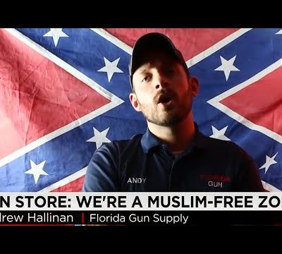hqdefault 142 400x360 - Muslim Free Zone shop teams up with George Zimmerman to sell Confederate Flag painting