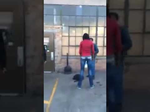 Woman and brother beats up rapist