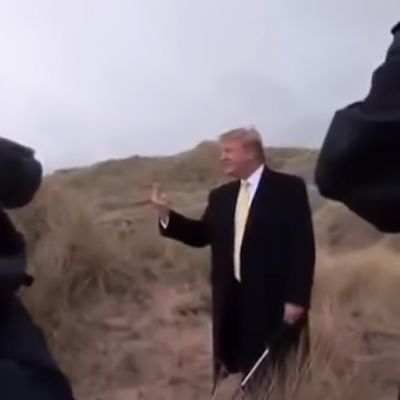 Donald Trump Flipping The Bird