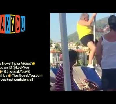 granny on the pole dancing