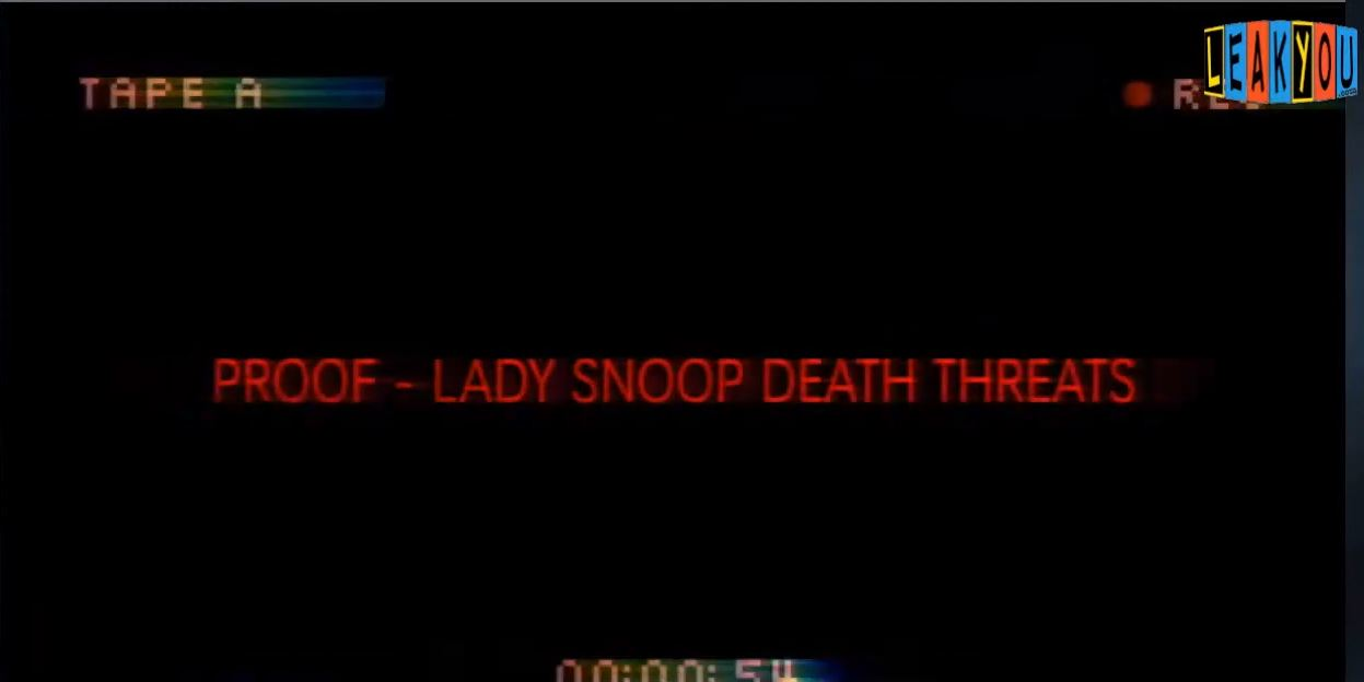 Lady Snoop Threatens LeakYou